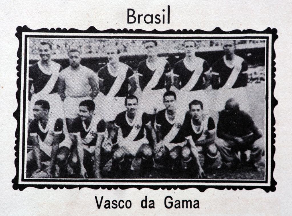 Campeão carioca, o Vasco da Gama foi o outro representante brasileiro