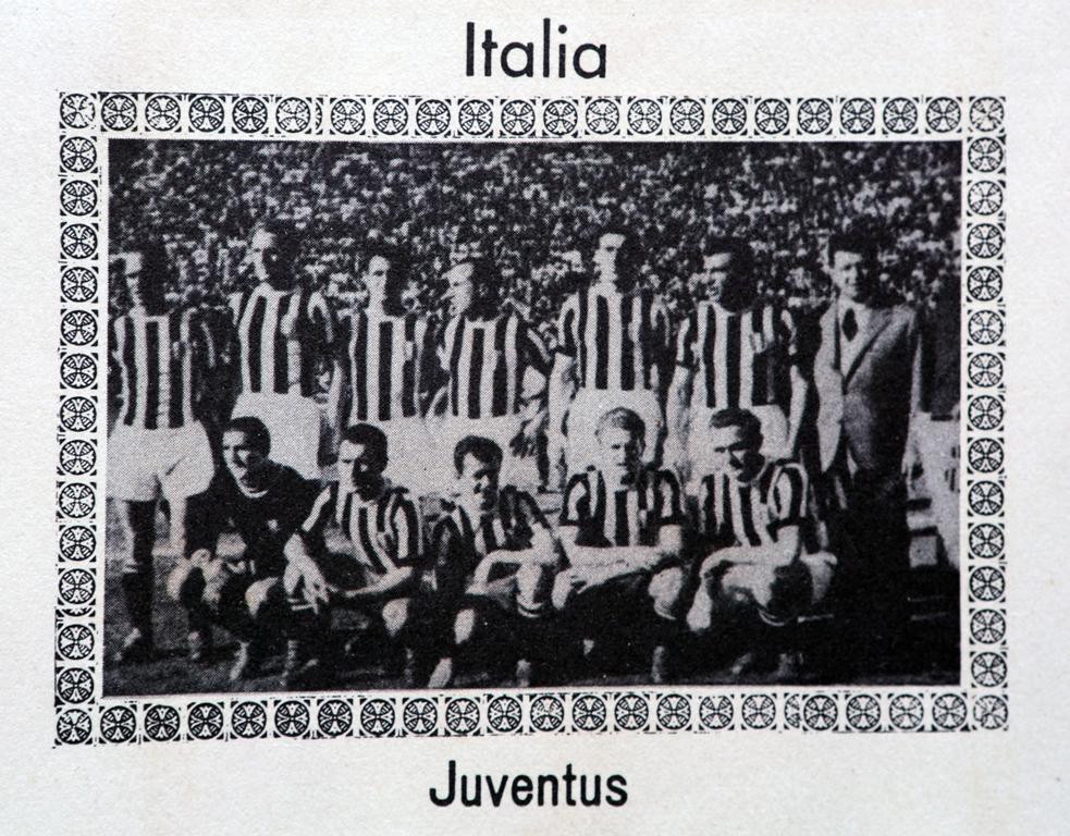 Convidada após o título italiano de 1950, a Juventus representou seu país
