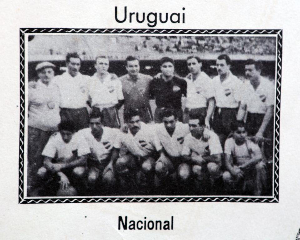 Após vencer a Copa de 1950, o Uruguai veio ao Brasil representado pelo Nacional