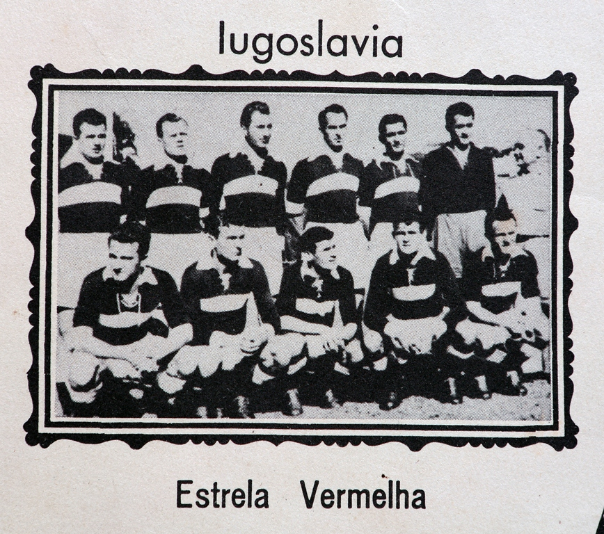 Potência da Iugoslávia (atual Sérvia), o Estrela Vermelha representou o país no Mundial