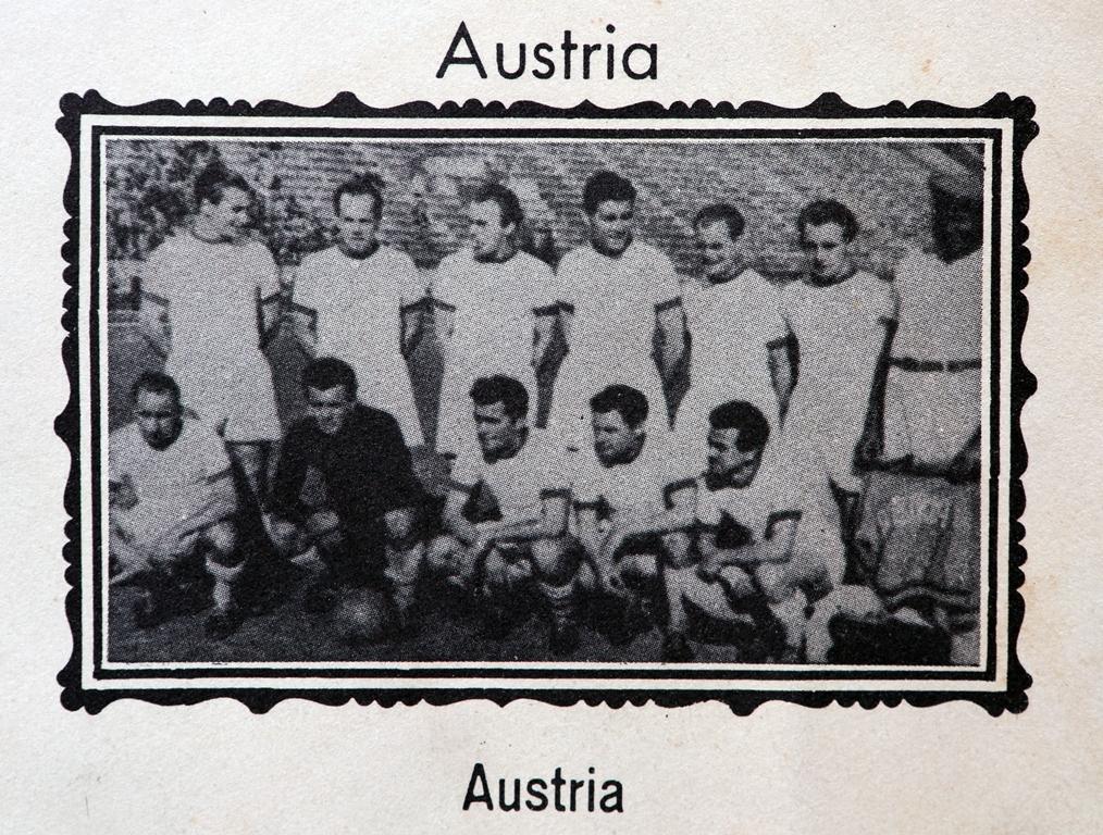 O Áustria Viena chegou ao Brasil como representante austríaco no Mundial