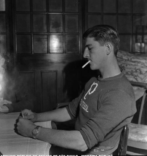 O goleiro Inocêncio durante a concentração alviverde pré-final