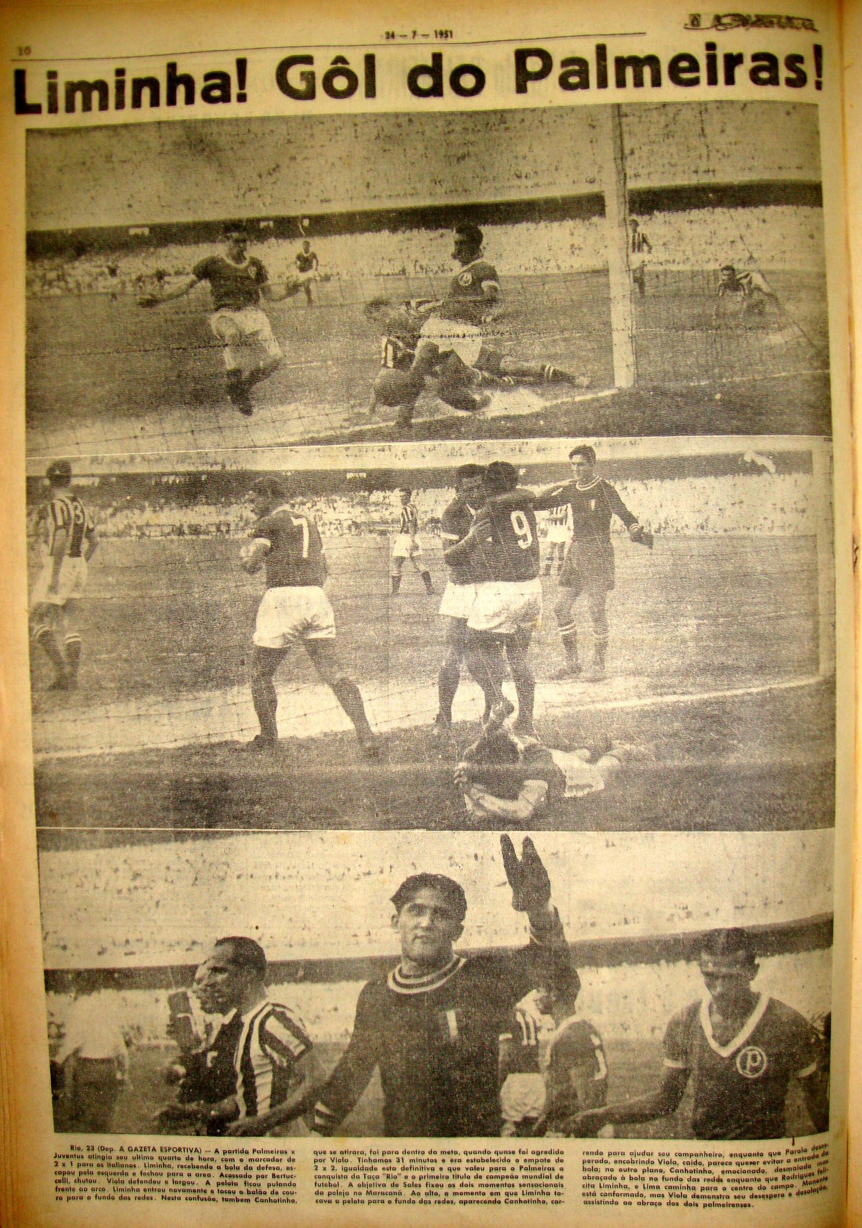Imagens do gol de Liminha e a lamentação do goleiro italiano